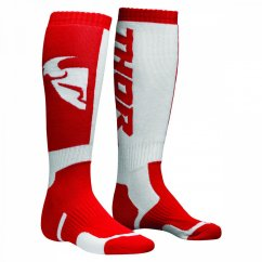 THOR MX Sock 18 - red/white