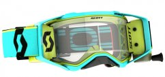 SCOTT PROSPECT WFS Teal/Yellow brýle - Clear Works Lens