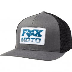 FOX Charger Flexfit Hat - pewter