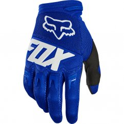 FOX Dirtpaw Race Rukavice - blue/white