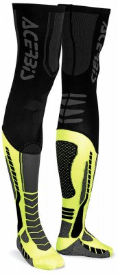 ACERBIS X-Leg Pro Sock - black/yellow
