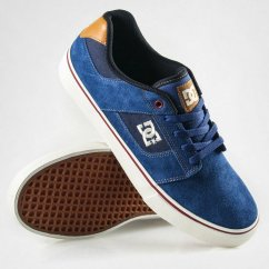 DC Shoes Bridge boty - navy/wheat