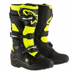 ALPINESTARS Tech 7S Youth Boot - black/yellow fluo