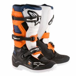 ALPINESTARS Tech 7S Youth Boot - black/orange/white/blue