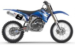 ONE INDUSTRIES Team Factory Yamaha YZF (06-09) Graphics kit