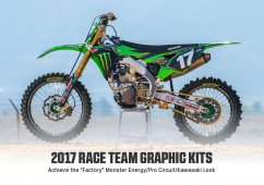 PRO CIRCUIT Team Monster Energy Graphic Kit 2017