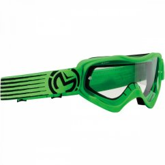 MOOSE RACING Qualifier Slash Goggles - green/black
