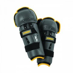 THOR Sector GP Knee Guard - charcoal/yellow