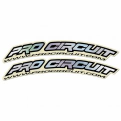 PRO CIRCUIT Fender Decals - hologram