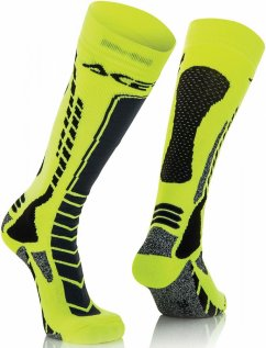 ACERBIS MX Pro Sock - black/flo yellow