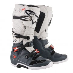 ALPINESTARS TECH 7 boty - dark grey/light grey/red fluo