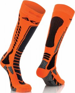 ACERBIS MX Pro Sock - black/flo orange