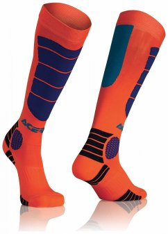 ACERBIS MX Impact Sock - orange/blue
