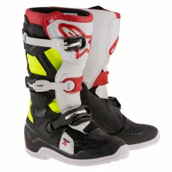 ALPINESTARS Tech 7S Youth Boot - black/red/yellow fluo
