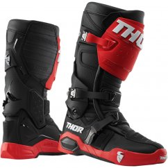 THOR Radial MX Boty 19 - red/black