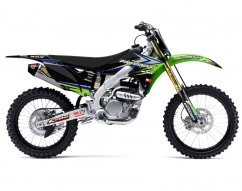 PRO CIRCUIT Kawasaki 2013 graphics kit