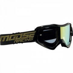 MOOSE RACING Qualifier Shade Goggles - black/smoke