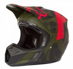 FOX V3 Marz Helmet - LE green