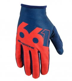 661 Comp Slice rukavice - navy/red
