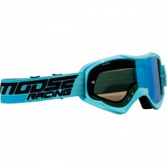 MOOSE RACING Qualifier Shade Goggles - blue/smoke