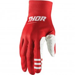 THOR Agile Plus Rukavice 21 - red