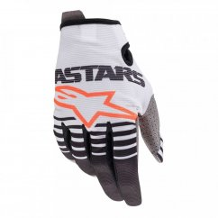 ALPINESTARS Radar Rukavice 20 - white/black