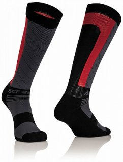 ACERBIS MX Compression Sock - black/red