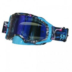 RNR Platinum Mirrored brýle - tattoo blue/mirror sklo