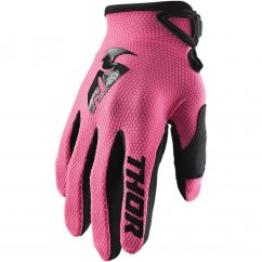 THOR Sector Glove Wmn 20 - pink