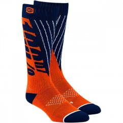 100% Torque Moto Socks - orange