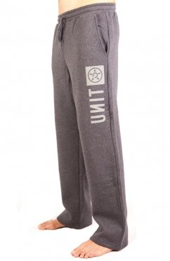 UNIT Reset Trackpant - charcoal marle