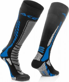 ACERBIS MX Pro Sock - black/blue