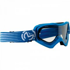 MOOSE RACING Qualifier Slash Goggles - blue/white