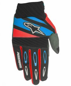 ALPINESTARS Techstar Factory Rukavice - black/red/blue