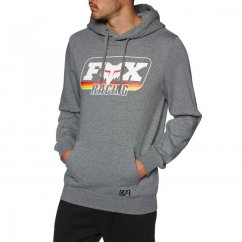 FOX Throwback Po Fleece - heather graphite
