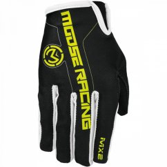 MOOSE RACING MX2 Gloves - yellow/black