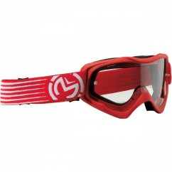 MOOSE RACING Qualifier Slash Goggles - red/black