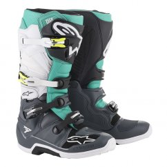 ALPINESTARS TECH 7 boty - dark grey/teal/white