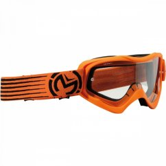 MOOSE RACING Qualifier Slash Goggles - orange/black
