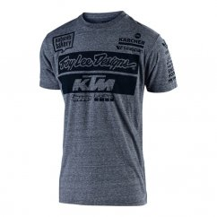 TROY LEE DESIGNS KTM TEAM T SHIRT 19 - charcoal