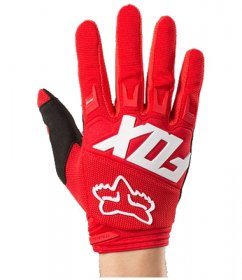 FOX Dirtpaw Race Glove 18 - red