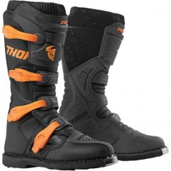 THOR Blitz XP Boots 19 - charcoal/orange