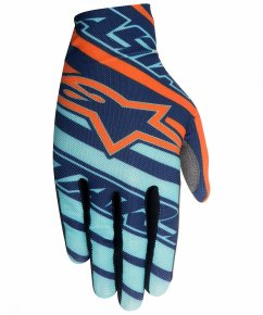 ALPINESTARS Dune Rukavice - navy/turq/orange