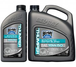 BELL-RAY Thumper® Racing Synthetic Ester Blend 4T olej - 15W50