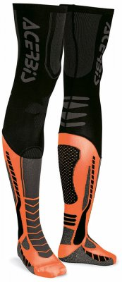 ACERBIS X-Leg Pro Sock - black/orange