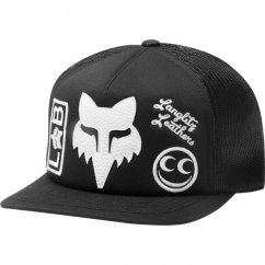 FOX Lab X See See Snapback Hat - black