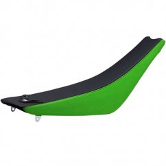 ONE Techno Grip Seat Cover - Kawasaki green/black
