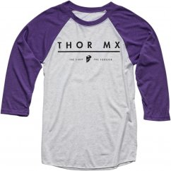 THOR MX Raglan Wmn - purple