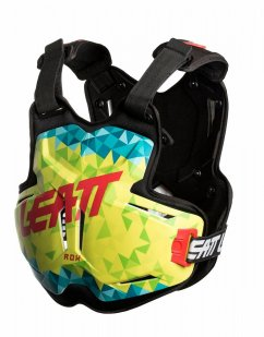 LEATT Rox 2.5 Chest Protector - lime/teal