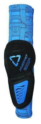 LEATT 3DF Hybrid Elbow Guard - black/blue